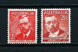Australia  Nº Yvert  161/2  En Nuevo - 1937-52 George VI