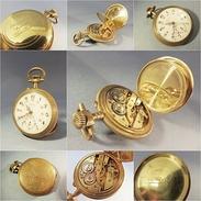 *MONTRE GOUSSET SELECTA SELECT'OR A BESANCON 10 RUBIS - Horlogerie Genève Bijoutier - Montres Gousset