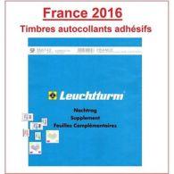Jeu Leuchtturm Feuilles Complémentaires SF France Timbres Autocollants 2016 - Non Classificati