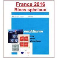 Jeu Leuchtturm Feuilles Complémentaires SF France Blocs UEFA, Caisse Des Dépôts, - Non Classificati