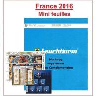 Jeu Leuchtturm Feuilles Complémentaires SF France Mini-Feuilles 2016 - Non Classificati