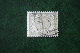 Cijfer 1 Ct NVPH 41 1902-1909  Gestempeld / USED NEDERLANDS INDIE / DUTCH INDIES - Indes Néerlandaises