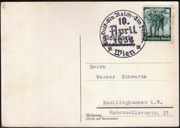 Germany Deutsches Reich Wien 1938 / Ein Volk, Ein Reich, Ein Führer - Deutschland