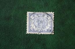 READ Cijfer 7 1/2 Ct NVPH 47 1908 1902-1909  Gestempeld / USED NEDERLANDS INDIE / DUTCH INDIES - Niederländisch-Indien