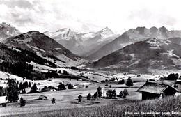 Blick Von Saanenmöser Gegen Gsteig / Gstaad - BE Berne