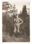 FINLAND - WWII - FIELD UNIFORM - FINNISH SOLDIER - ORIGINAL PHOTO - - Guerre, Militaire