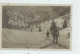 Allevard (38) : GP D'un Skieur Dans La Cirque De Gleyzin En 1930 (animé) PF. - Allevard