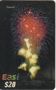 BRUNEI - Firework, DST Recharge Card $20, Exp.date 22/06/07, Used - Brunei