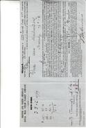 Bolla Di Carico Havre To Liverpool For New York 1869 - Stati Uniti