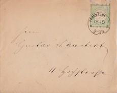 DR Ortsbrief EF Minr.23 Frankfurt 18.10. - Briefe U. Dokumente