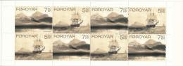 Faroe  Islands MNH 2007 #481-#482 Complete Booklet Set Of 2 1838 La Recherche Expedition - Féroé (Iles)