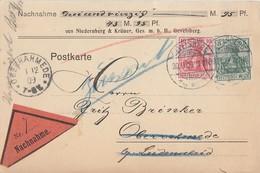 DR NN-Karte Mif Minr.85I, 86I Gevelsberg 30.11.09 Gel. Nach Oberrahmede - Deutschland