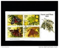 IRELAND/EIRE - 1994  FAUNA AND FLORA   MS FINE USED - Irlanda