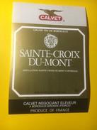 3472 - Sainte-Croix Du-Mont Calvet - Bordeaux