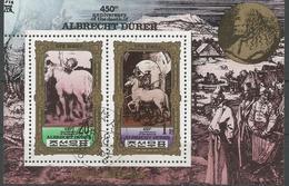 KOREA NORD, 1980 ALBRECHT DURER HORSES, TOPIC, S/S Used - Korea (Nord-)