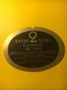 3474 - Entre-Deux-Mers Gamage Sec 1982 - Bordeaux