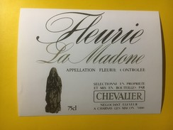 3477 - Fleurie La Madone - Beaujolais