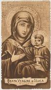 SANTINO HOLY CARD BEATA VERGINE DI S.LUCA BOLOGNA -PRIMI 900 (121M - Santini