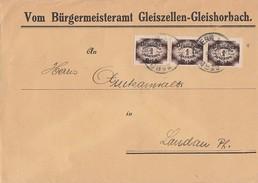 DR Brief Mef Minr.3x D46 - Dienstpost