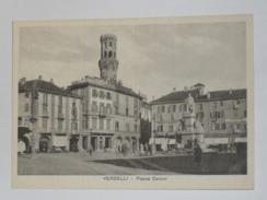VERCELLI - Piazza Cavour - Animata - Vercelli