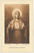 SANTINO HOLY CARD COER SACRE DE MARIE - PRIMA PARTE 900 (153M - Santini