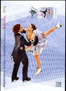 317-SLOVAKIA Collection Sheet European Figure Skating Championship In Bratislava 1.500 Pcs Format A5 2016 - Kunstschaatsen