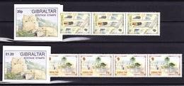 Gibraltar 1993 2 Boekjes **, Zeer Mooi Lot Krt 3326,   KOOPJE !!!!! - Gibraltar