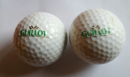 Joli Lot De 2 Balles De Golf Collection Guillot Ram Tour - Apparel, Souvenirs & Other