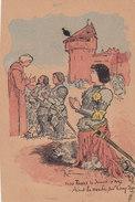 60 Oise, Chateau De Compiegne, Jeanne D'Arc, Illustrateur Robida - Compiegne