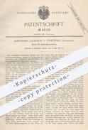 Original Patent - A. Lagerman , Jönköping , Schweden , 1887 , Schrift - Setzmaschine | Schriftsetzer , Druck , Buchdruck - Historische Dokumente