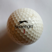 Joli 1 Balle De Golf Collection Slazenger 1 - Habillement, Souvenirs & Autres