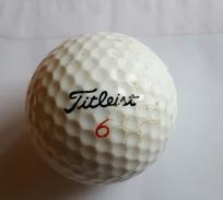 Joli 1 Balle De Golf Collection Fitleist 6 384 Pts 90 - Habillement, Souvenirs & Autres