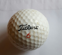 Joli 1 Balle De Golf Collection Fitleist 6 384 Pts 90 - Apparel, Souvenirs & Other