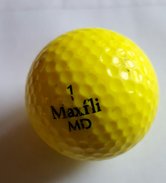 Joli 1 Balle De Golf Collection 1 Maxfli MD - Apparel, Souvenirs & Other