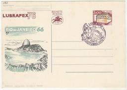 Postal Stationery * Lubrapex76 * Rio De Janeiro66 - Enteros Postales