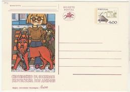 Postal Stationery * Centenario Da Sociedade Protectora Dos Animais - Enteros Postales