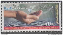PAKISTAN ,MNH, 2016, WATER CONSERVATION,1v - Protection De L'environnement & Climat