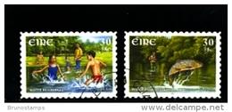 IRELAND/EIRE - 2001  EUROPA  SELF  ADHESIVE SET  FINE USED