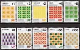 ARGENTINA 2016 - The Complete Set Of The Definitives For UP Depicting Vegetables (10) Mint, NH - Argentina