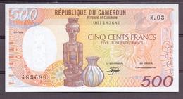 Cameroun  Kameroen  500 Fr 1988   UNC - Banknoten