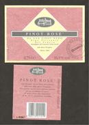 ITALIA - Etichetta Vino PINOT ROSE' DA UVE DI PINOT NERO Cantina CONS.MARCA TREVIGIANA Di Oderzo Per CONAD Rosato VENETO - Vino Rosato