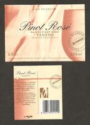 ITALIA - Etichetta Vino PINOT ROSE' DA UVE PINOT NERO Cantina CONS. MARCA TREVIGIANA Di Oderzo Per CONAD Rosato VENETO - Vino Rosato