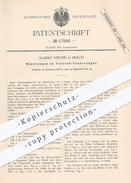 Original Patent - Albert Strube , Berlin , 1881 , Taschen - Feuerzeuge | Feuerzeuge , Feuer , Zündhölzer , Streichhölzer - Historische Dokumente