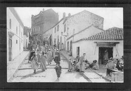 Boghari - Une Rue Du Ksar - Andere Städte