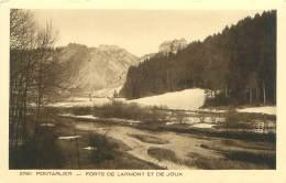 25 - PONTARLIER - Forts De Larmont Et De Joux - Pontarlier