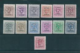 Belgique Preos De 1959  N°686  A  698  Neufs **  Parfait - Unclassified
