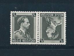 Belgique Timbres De 1938 N°480a  Neuf ** (tete Beche) - Belgique