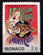 MONACO #1842. 2.50fr, 17th International Circus Festival.   MNH (**) - Monaco