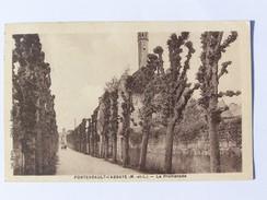 Cp1200 E1 FONTEVRAULT L Abbaye La Promenade 1938 - Autres Communes
