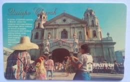 Philippines Phonecard Eastern Telecom 150 Unit GPT Quiapo Church Used